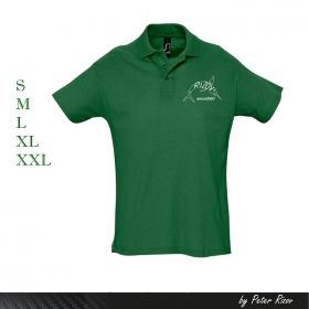 MEN'S POLO SHIRT DARK GREEN