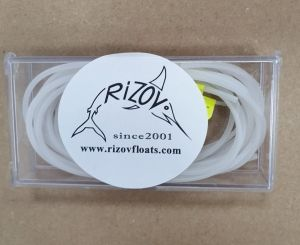 set of Silicone Pole Float Rubber clear 1.0 , 1.2 , 1.5 mm
